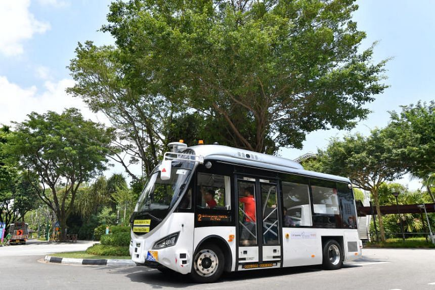 Singapore plans to deploy autonomous buses in three districts of the island from 2022.