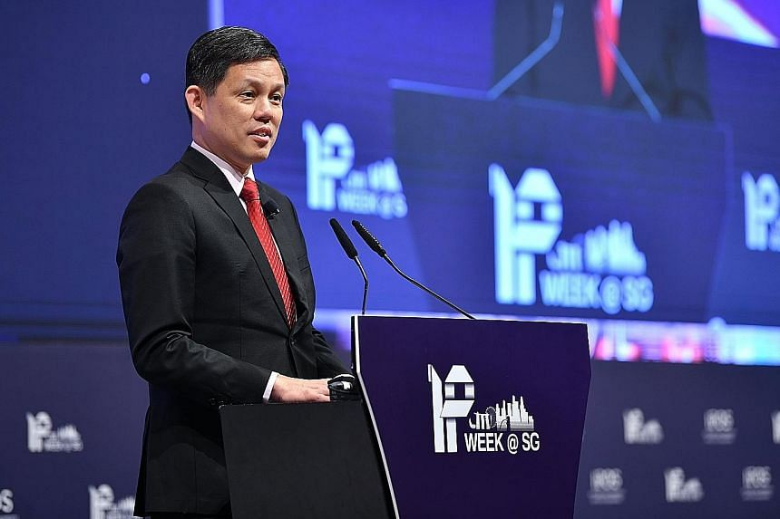 """At the IP Week conference yesterday, Trade and Industry Minister Chan Chun Sing said the new Ipos International will """"better organise"""" the Government's support for firms, adding: """"Intangible assets, including IP, will increasingly drive the next wave"""