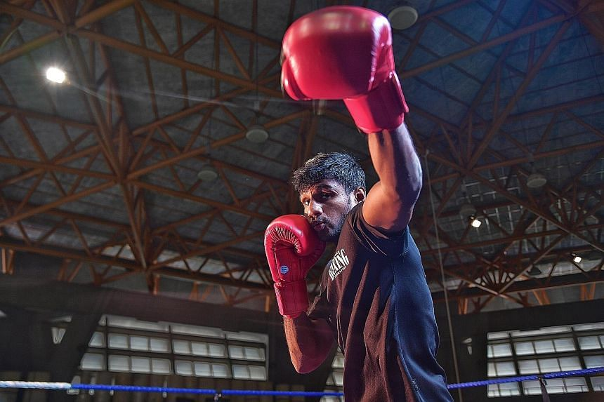 Flyweight boxer Mohamed Hanurdeen Hamid, who won a silver and bronze at the SEA Games in 2015 and 2017 respectively, is Singapore's best bet to end their gold drought at the Games.