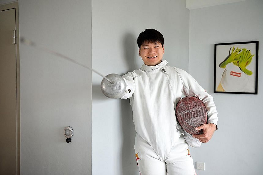 While Mr Lim Wei Wen was studying at the Institute of Technical Education, he trained every day and was spotted at a competition by former national coach Alexey Karpov, who later became his mentor and gave him a new purpose in life.