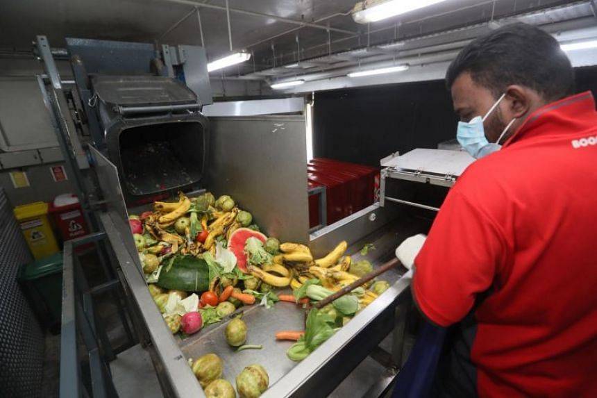 A new study has found that one-fifth of total food in Singapore is lost and wasted in the food supply chain.