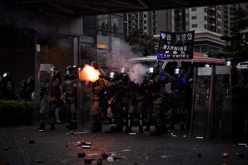 Hong Kong has been engulfed in angry and sometimes violent protests against the government for three months, sparked by a now-suspended extradition Bill and concerns that Beijing was trying to bring the territory under greater mainland control.