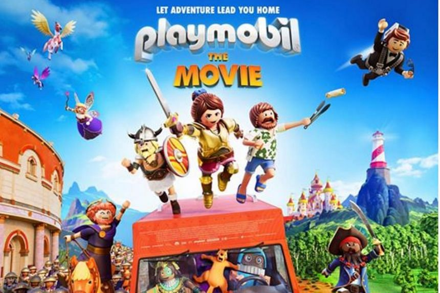 Promotional poster for the Playmobil movie.
