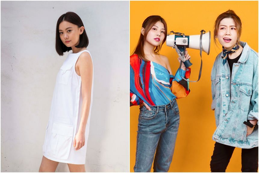 In October, Singaporean Celeste Syn (left) will join Taiwanese Lara Liang to present a cross-border showcase themed around the pursuit of perfection. In November, pop-duo StellaVee (right) will charm audiences with their yet-to-be-released original s