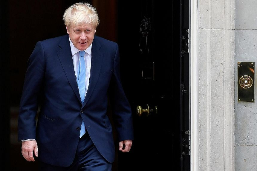 British Prime Minister Boris Johnson's decision to set Oct 14 for the Queen's Speech, which marks the formal state opening of a new session of Parliament, has been seen as his boldest move yet to take Britain out of the European Union with or without