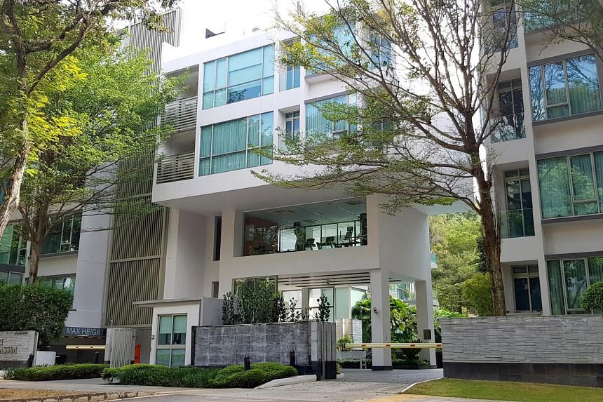 The 30-unit Beaufort On Nassim, which occupies a site of about 4,212.6 sq m in Nassim Road, is within walking distance of the Orchard Road shopping belt. PHOTO: SAVILLS SINGAPORE