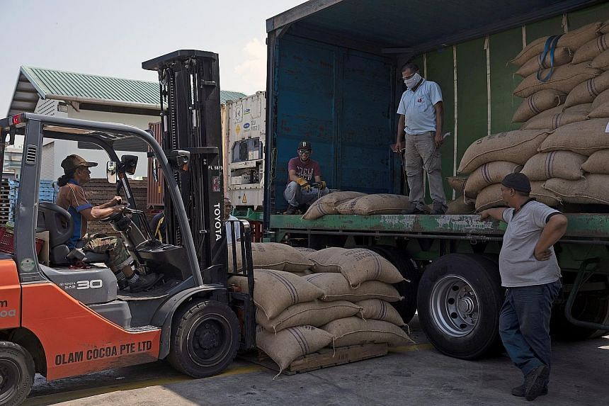 Olam International, which supplies food products like cocoa, is also on the list. DBS Bank, one of Singapore's leading lenders, ranks 13th by market value within the Asia-Pacific. The three local banks - DBS, OCBC Bank and United Overseas Bank - are