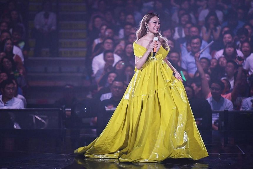 Singer Joey Yung said that Mr Gavin So, who was seen at many of her shows, is just a friend amidst rumor of a romantic relationship between the pair.