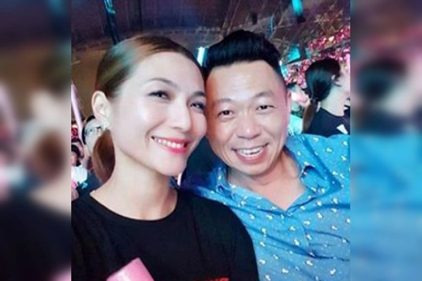 Former Pokka chief executive Alain Ong Eng Sing, whose wife is actress Vivian Lai. Pokka alleged that Mr Ong has breached his duties as a director and employee.