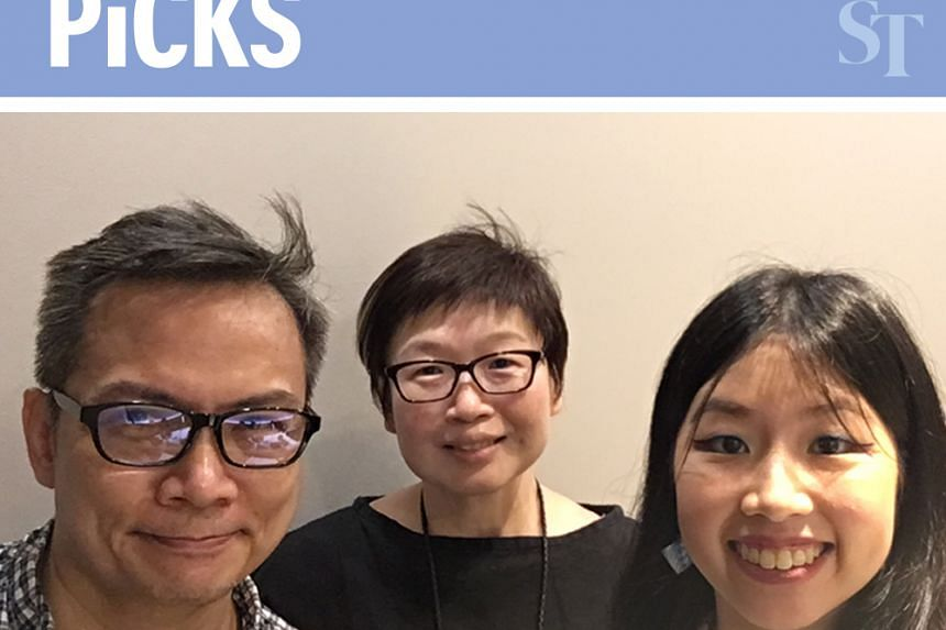 This week's Life Picks podcast features John Lui (left) hosting colleagues Tan Hsueh Yun (centre) and Olivia Ho as they talk about the best things to do in Singapore from Aug 29 to Sept 5.