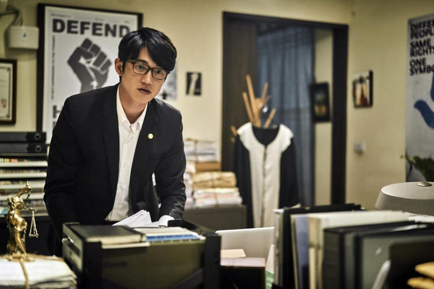 Taiwanese actor-model Taiwanese actor-model Wu Kang-jen, who acted as the shooter's defence attorney in the television series The World Between Us.
