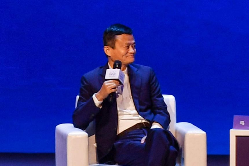Billionaire Jack Ma cited electricity as an example of how developments in technology can free up time for leisure.