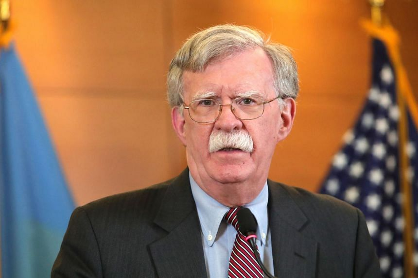 US President Donald Trump's national security adviser John Bolton used his two-day trip to Ukraine to warn of intellectual property theft by China and unfair trade practices.