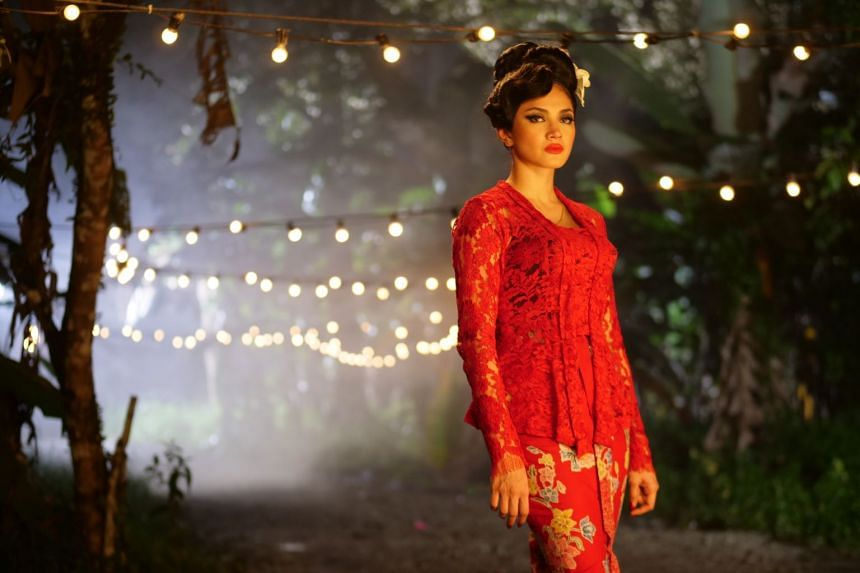 Nur Fazura plays a mysterious beautiful woman who visits a kampung in Revenge Of The Pontianak.