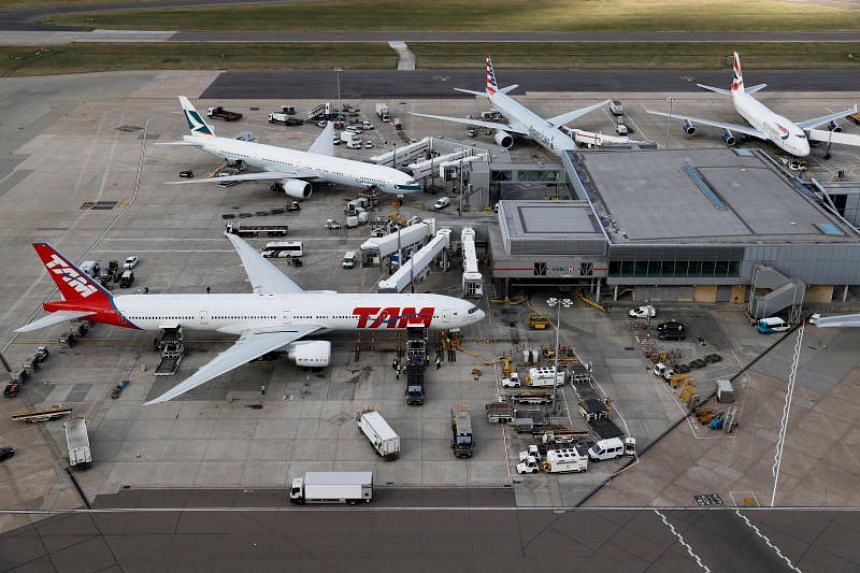 British activists threatened to fly drones and disrupt flights at Heathrow Airport from Sept 13, in a bid to put pressure on the government to reduce carbon emissions.