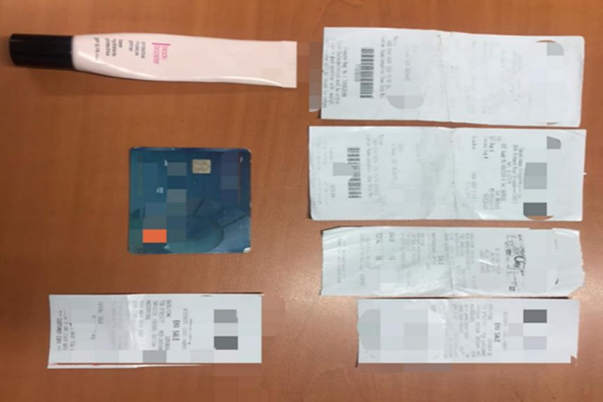 The card was used to make several unauthorised transactions amounting to more than $700 at retail outlets.