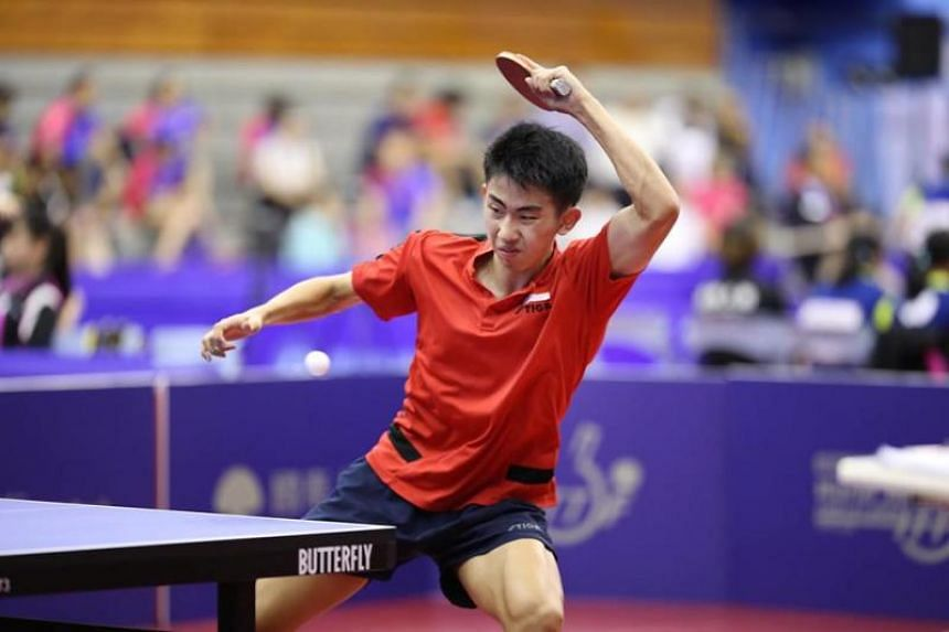 Table Tennis Koen Pang Moves To No 1 In The Under 18 Boys