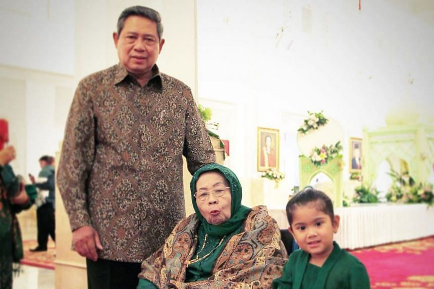 Madam Siti Habibah, the mother of former Indonesian president Susilo Bambang Yudhoyono, died on Aug 30 at the age of 87.