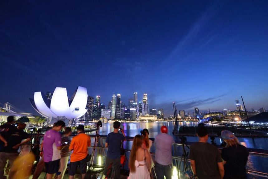 Singapore came tops in both infrastructure and personal security.