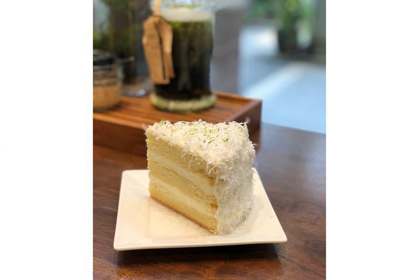 Flan De Yuzu ($8.50 a slice, $42.88 for 1kg)