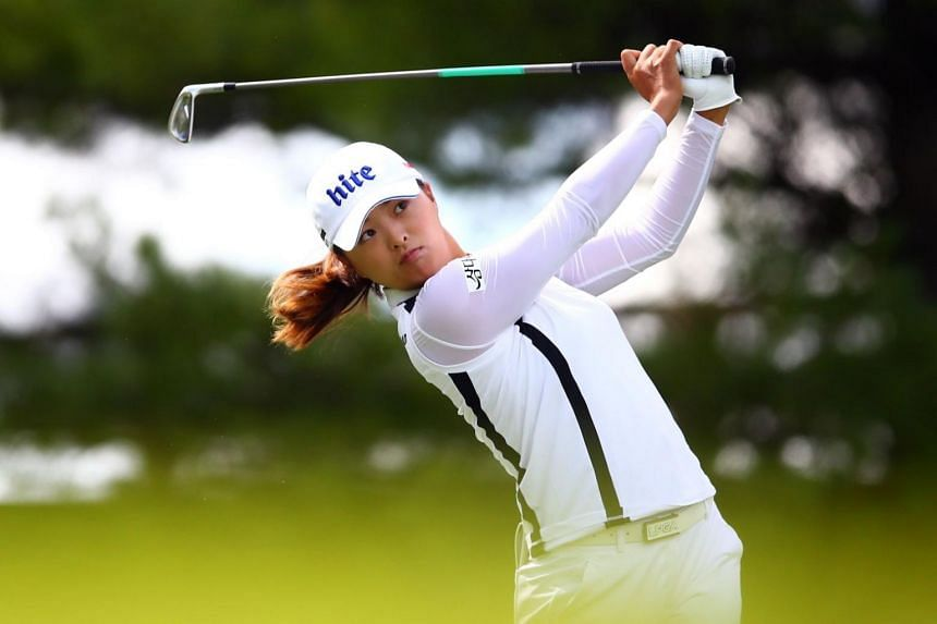 South Korean Ko Jin-young acknowledged that the bogey-free streak had been exhausting, especially after it reached triple digits and commandeered the attention of the golf world.