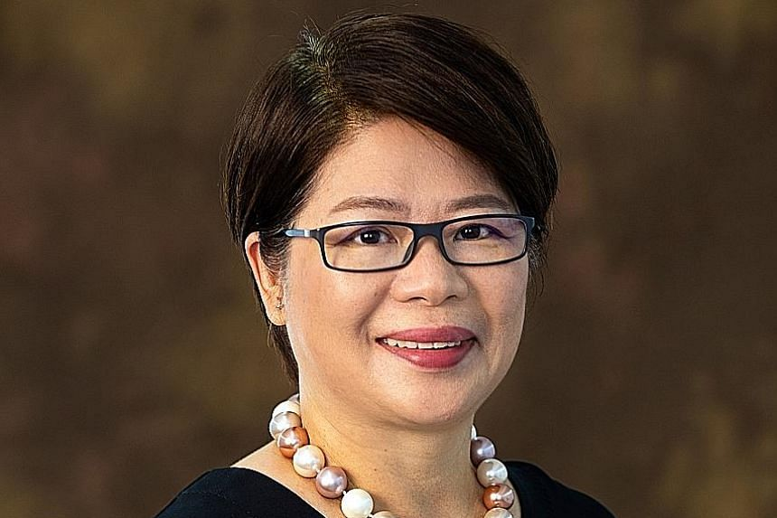 Ms Goh Swee Chen (left) will succeed Professor Chan Heng Chee (below) as chairman of the National Arts Council with effect from tomorrow. Ms Goh, a mother of three, has been a council member since September last year.