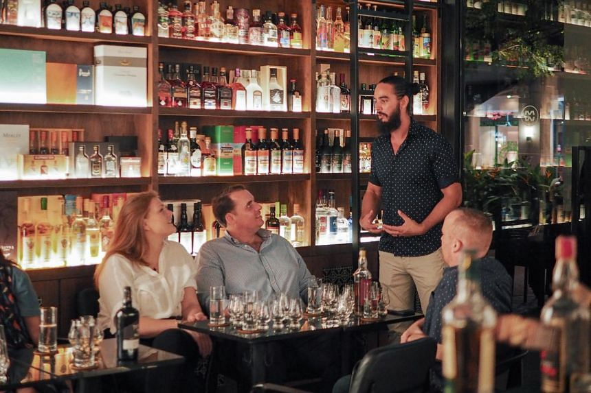 Academy of Drinks, an educational platform here that explores different alcohol categories, is riding on the forecasted growth of the American whiskey category in Singapore.
