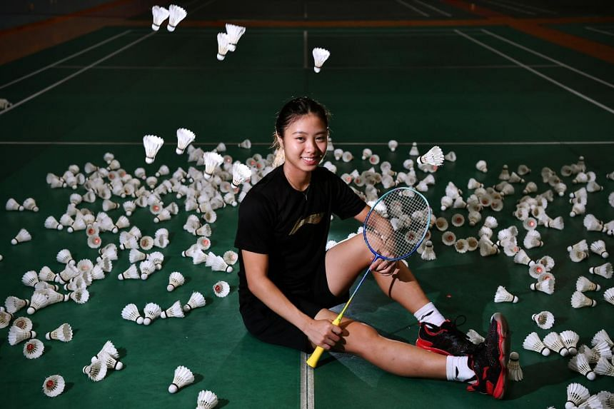 National shuttler Yeo Jia Min at the OCBC Arena on Aug 2, 2019. The 20-year-old is the first Singapore woman to reach the singles quarter-final at the world championships.
