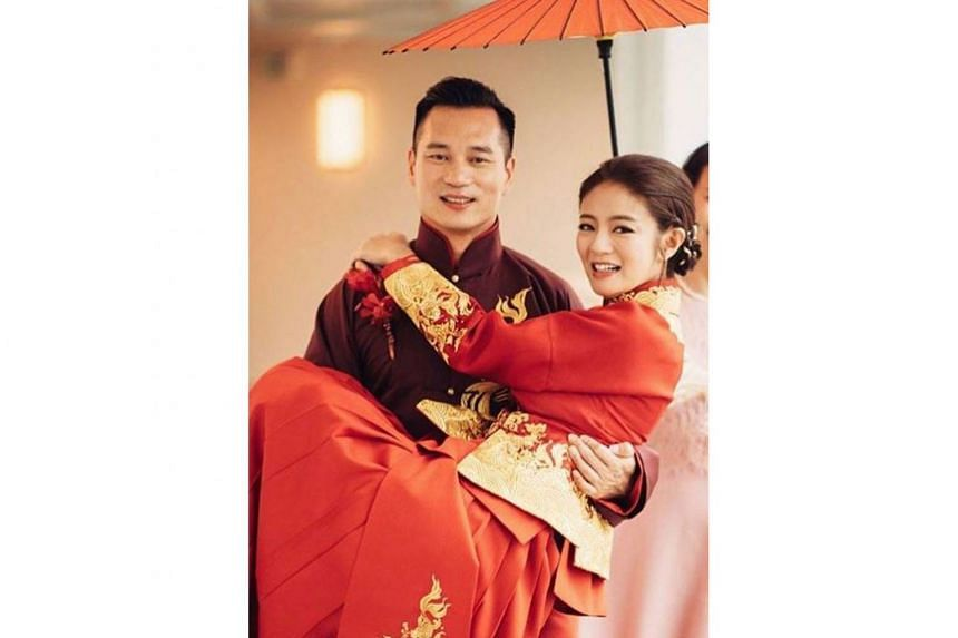 Actress Ady An married Mr Levo Chan in 2017 after a discreet courtship.