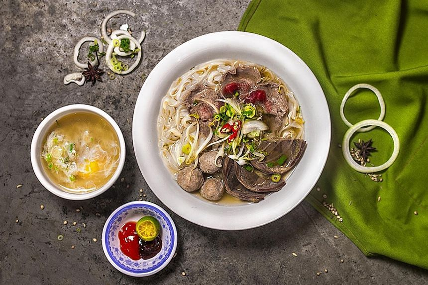 The Special Beef Combo Pho.