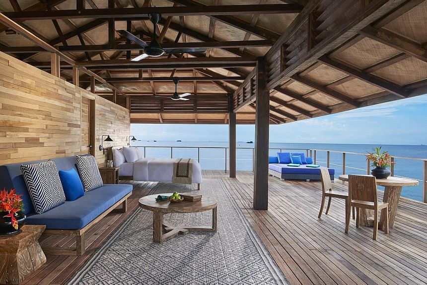 Banyan Tree Bintan's newly launched kelong villa is located about 800m beyond the shore, making it the most private of the property's 68 villas.