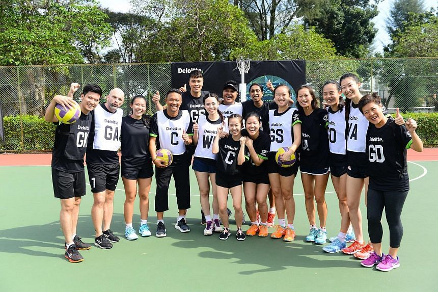 A total of $10,000 was raised for social service organisation Awwa's new school building on the final day of the Deloitte Pesta Sukan at the Kallang Netball Centre yesterday. The charity exhibition match - featuring current and former national player