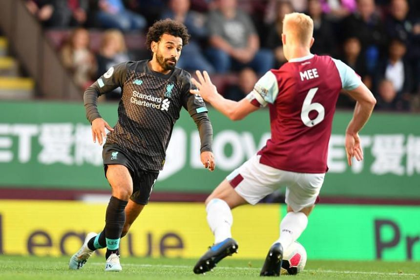 Salah assists in Liverpool's 3-0 victory against Burnley