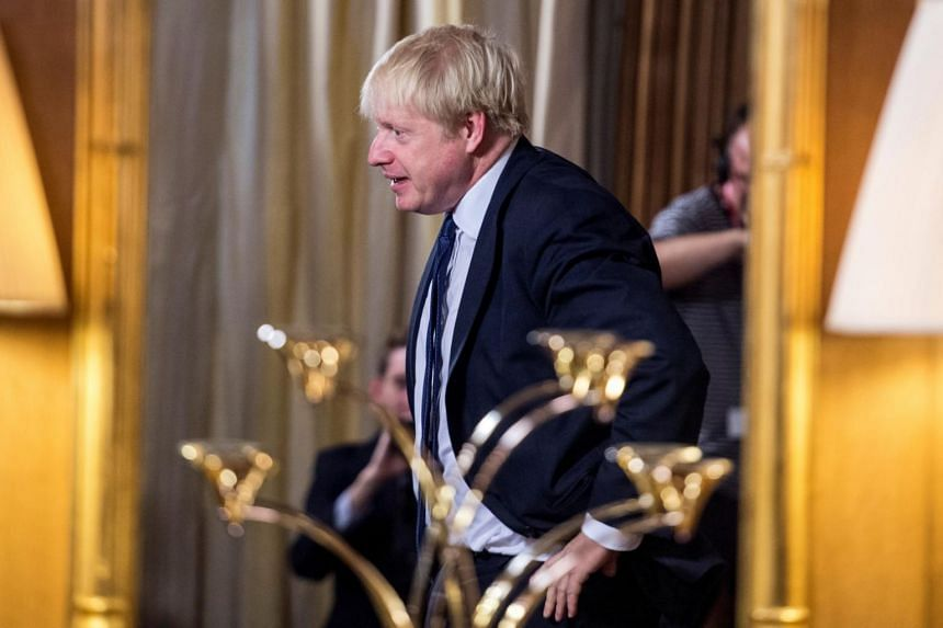 Prime Minister Boris Johnson conducted a meeting with Conservative whips over lunch on Sunday at his Chequers country retreat, the report said.