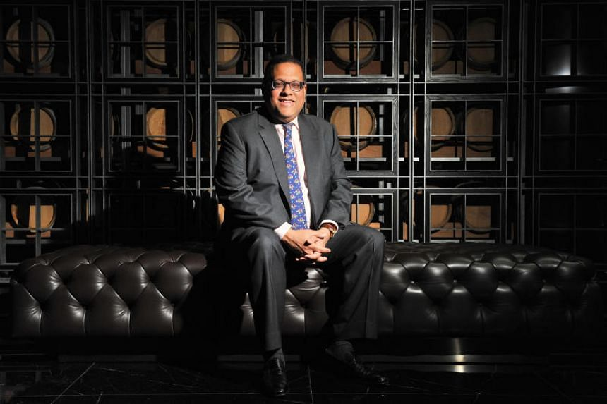 Former Sri Lankan central bank chief Arjuna Mahendran in a picture taken on Sept 3, 2015.