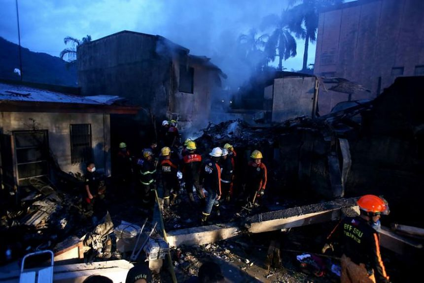The Beechcraft King Air plane carrying the couple and seven Filipinos, including a medical team, crashed on Sept 1 in Pansol village in Laguna province as it approached its destination, Manila.