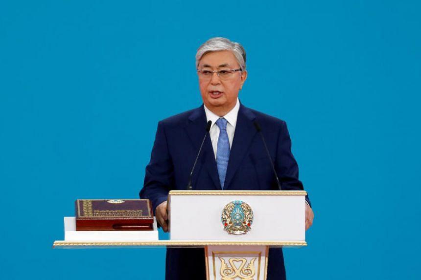 Kazakhstan's President Kassym-Jomart Tokayev called for improved legislation to allow peaceful rallies.