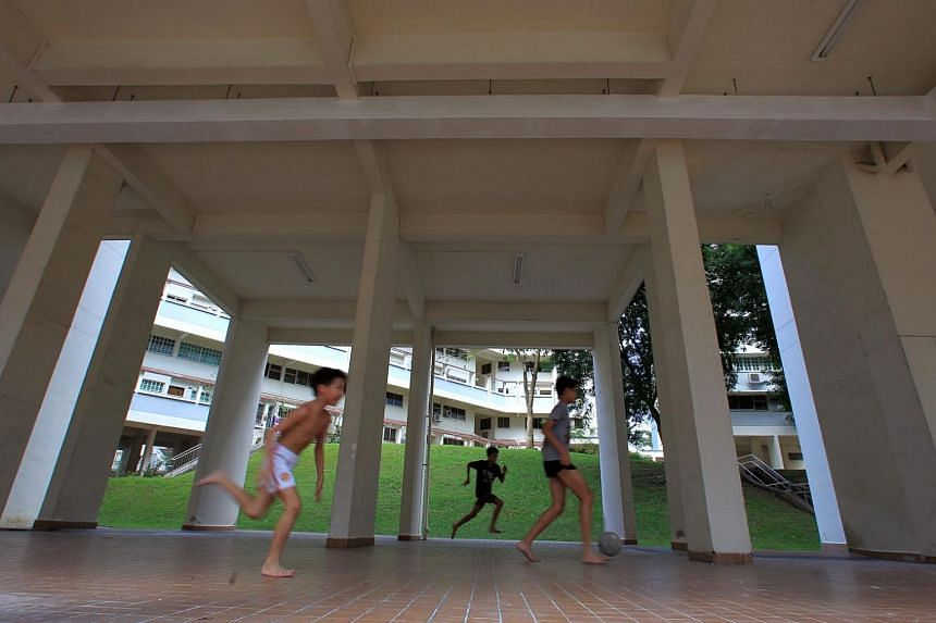 There are ample facilities available in almost every HDB precinct for anyone to indulge in his vocal, dancing, riding or sporting pretensions, where it is safe, socially acceptable and even encouraged.