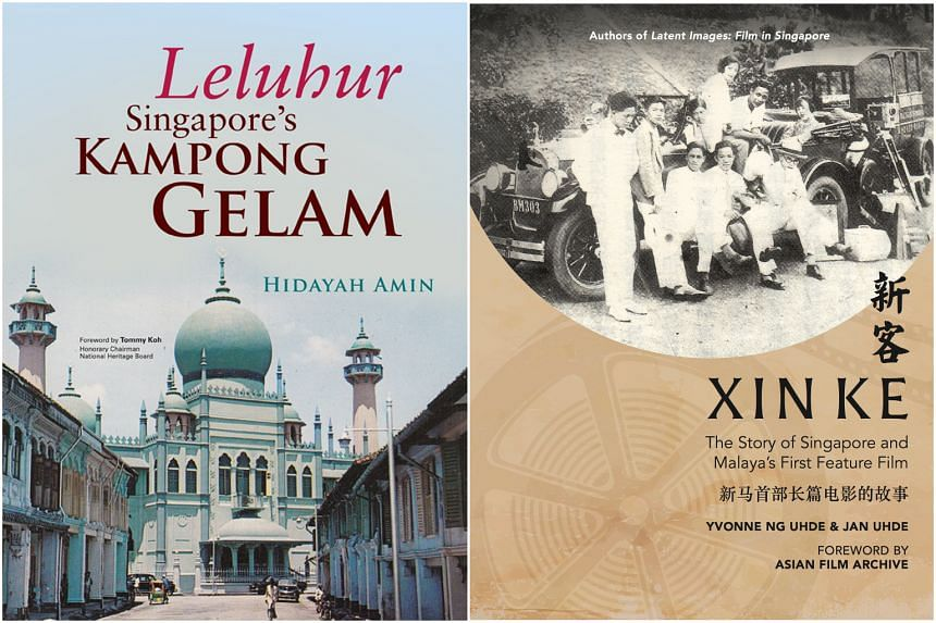 Leluhur by Hidayah Amin and Xin Ke by Yvonne Ng Uhde, Jan Uhde and Toh Hun Ping.