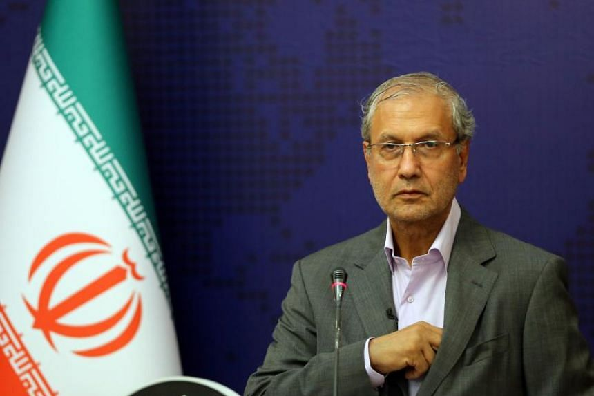 The comments from Iranian government spokesman Ali Rabiei reinforced the deadline Iran had set for Sept 6 for Europe to offer it a way to sell its crude oil on the global market.