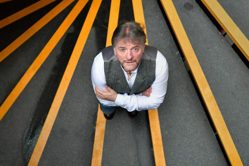 John Connolly stopped over in Singapore on Aug 30 on his way to Australia.
