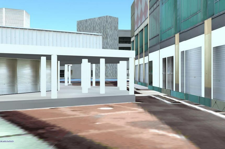 The 3D version of OneMap will use models and renderings to project how buildings look like in a neighbourhood, and can be done even for buildings that are not yet built.