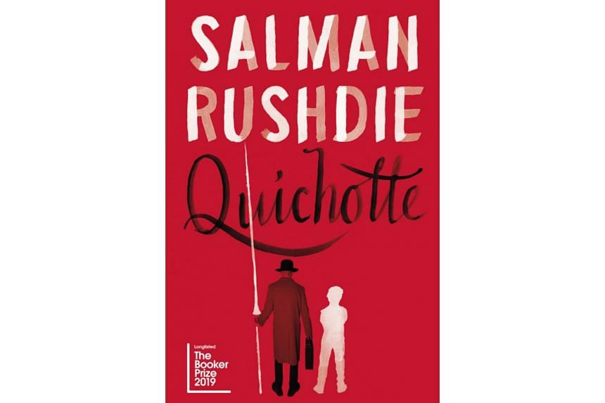 The plot of Salman Rushdie's Quichotte sometimes feels like a sliced-and-diced mishmash of news you might find on your social media feed - mass shootings, ethics of big pharma and apocalyptic fantasies.