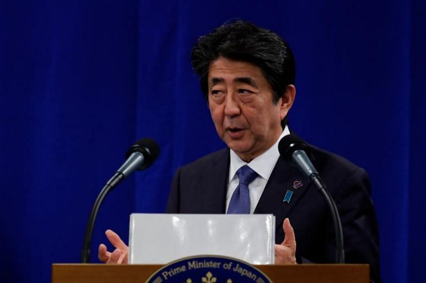 Japan's Prime Minister Shinzo Abe said at a meeting he intends to respond to the strong public support shown in July's Upper House election and to carry out all the policies he has promised.