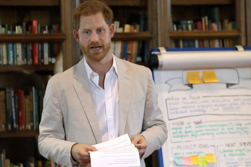 """Prince Harry announced the """"Travalyst"""" scheme, which is designed to improve conservation, environmental protection and expand local community economic development to help the travel industry become a force for good."""