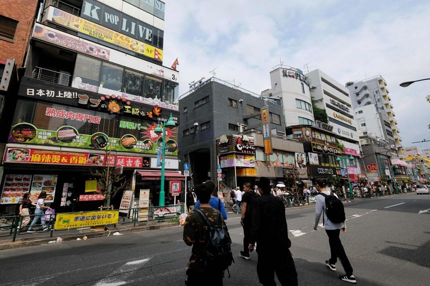 K-pop and kimchi: Tokyo's 'Little Seoul' shrugs off Japan
