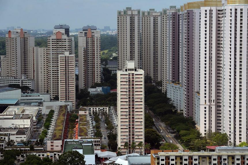 HDB flats in Toa Payoh, on Feb 1, 2019.