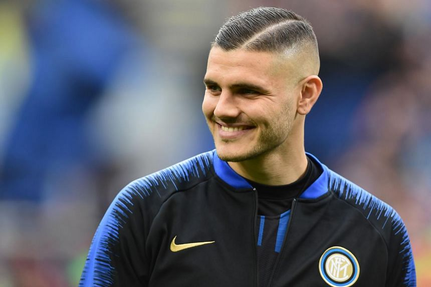 Mauro Icardi, who is on loan to PSG, was stripped of the Inter Milan captaincy last season and barred from full training following a dispute.
