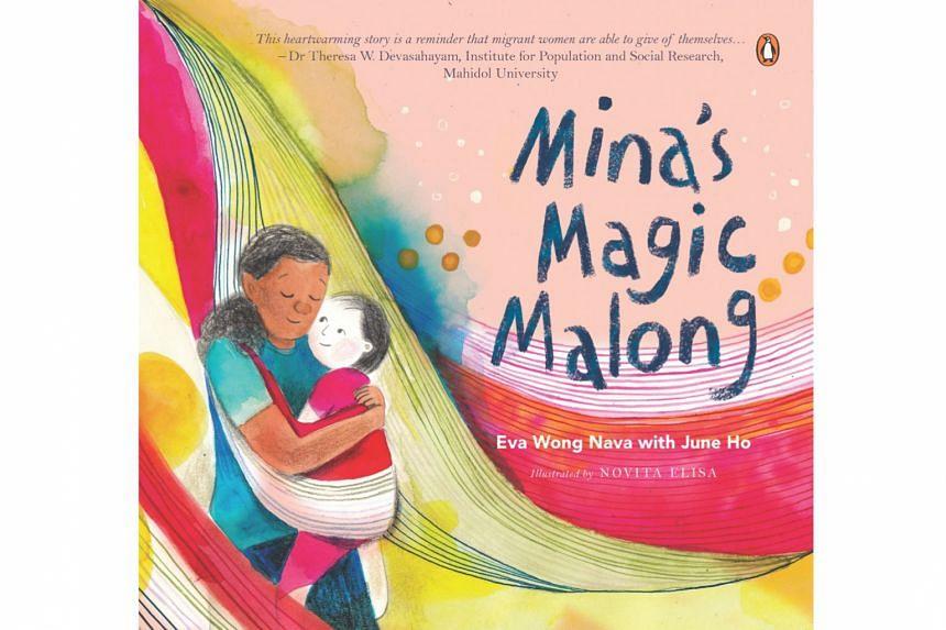 Mina's Magic Malong by Eva Wong Nava and June Ho, illustrated by Novita Elisa
