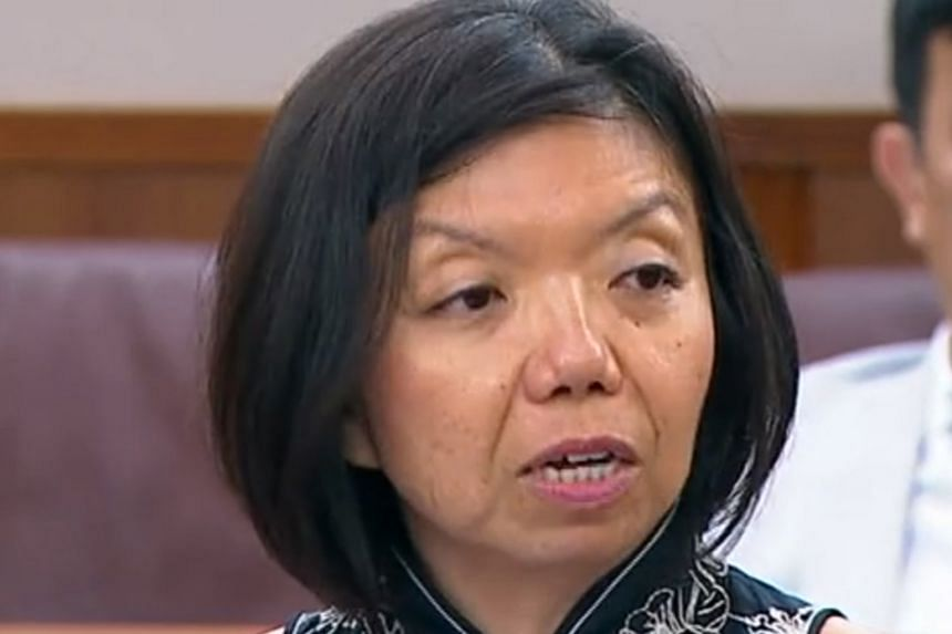 Nominated MP Anthea Ong.